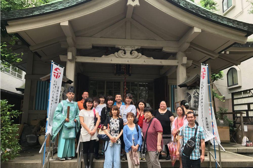 夏詣神社めぐり(台東区周辺コース)