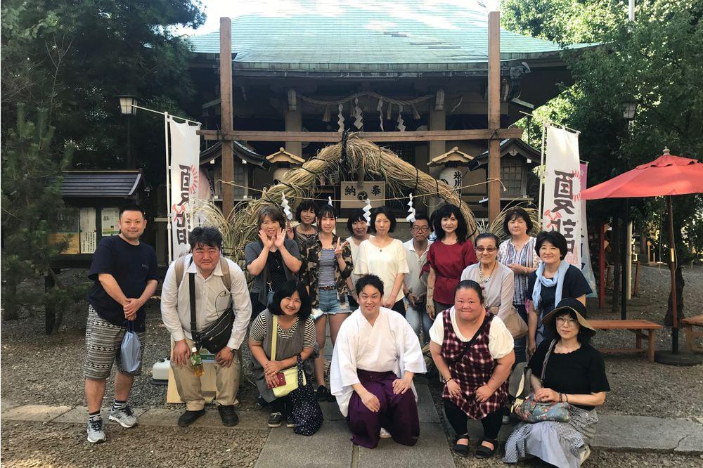 夏詣神社めぐり(台東区外周辺コース)