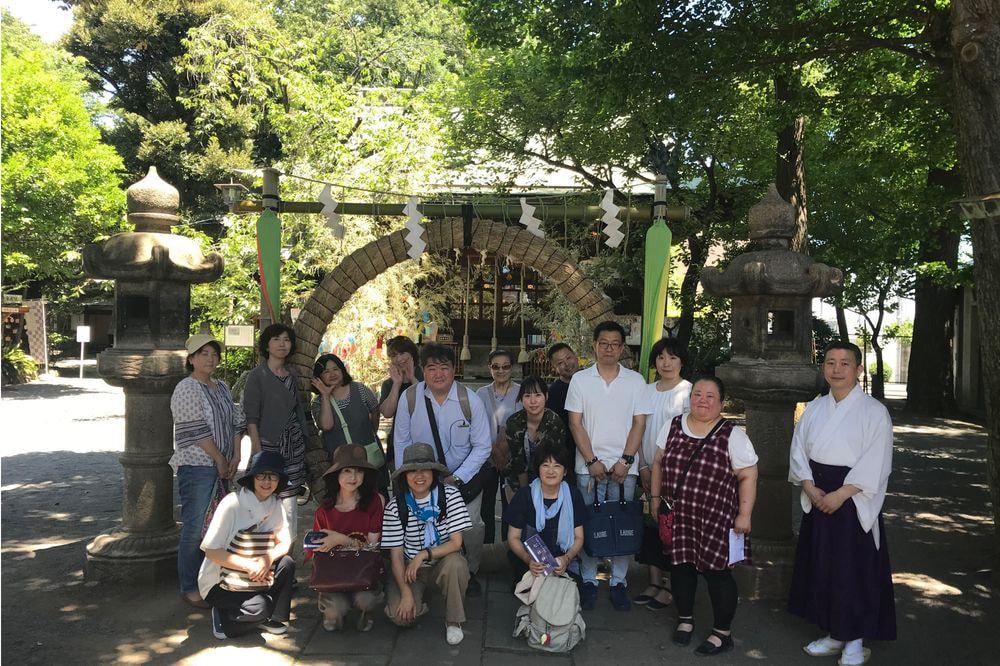 夏詣神社めぐり(新コース)