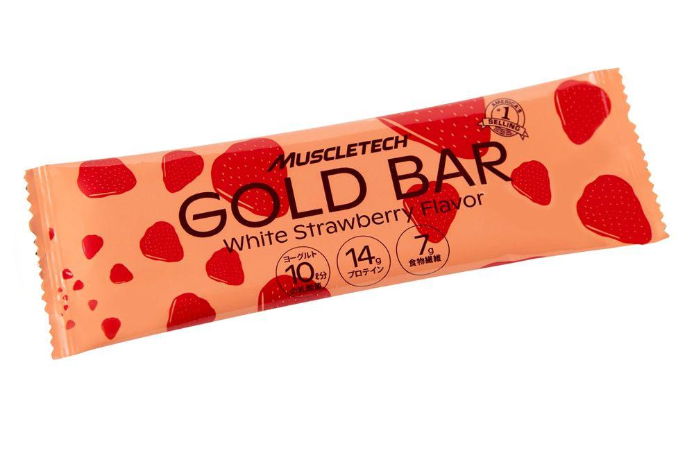 GOLD BAR 1箱 ホワイトストロベリー風味