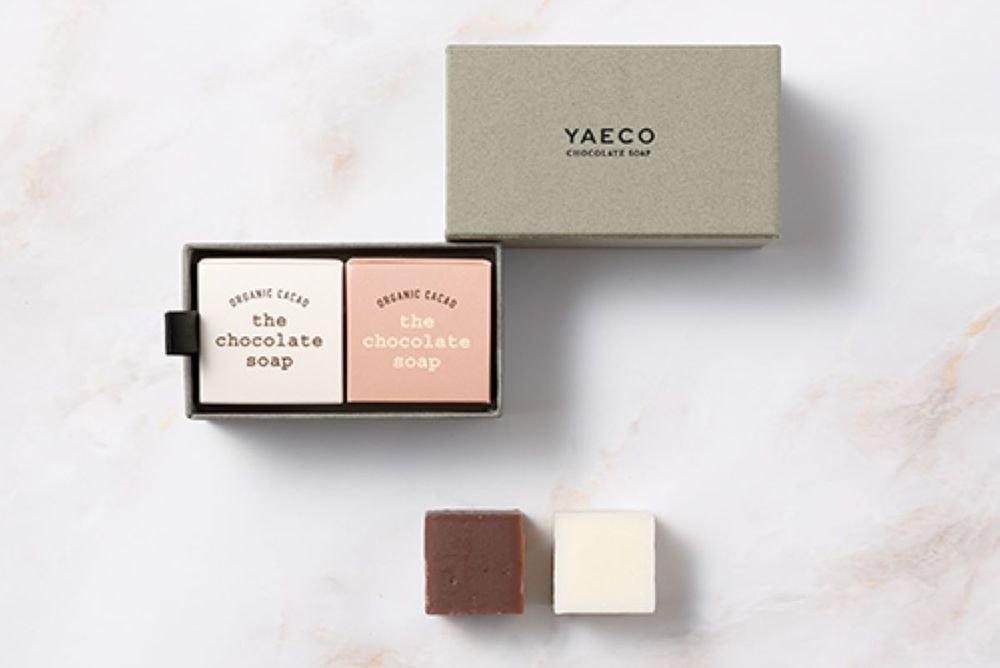 YAECO チョコレートキューブソープ 2個入
