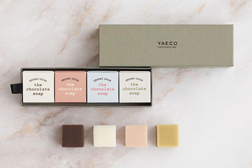 YAECO チョコレートキューブソープ 4個入 各15g