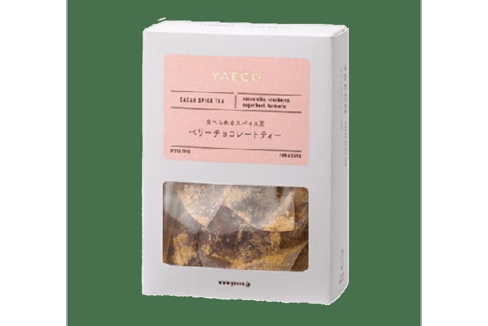 YAECO カラダを整えるカカオティー ベリーチョコレートティー(6包入)