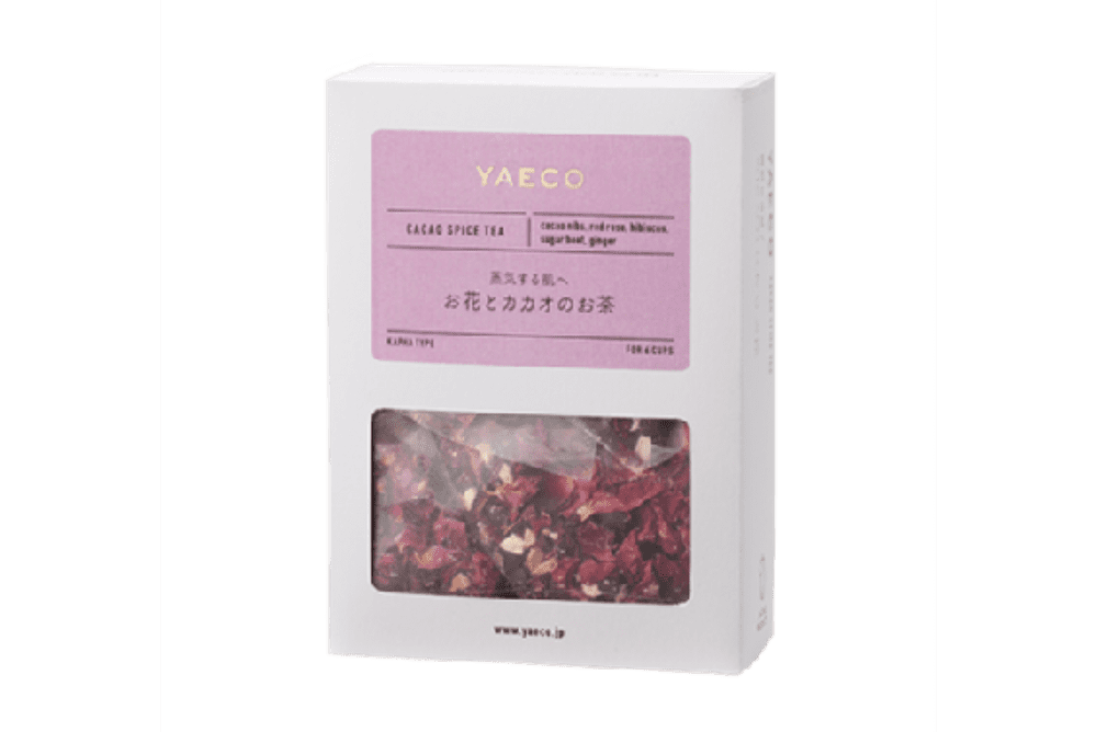 YAECO カラダを整えるカカオティー お花とカカオのお茶(6包入)