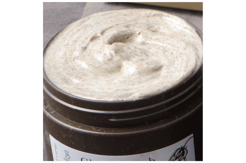 Clay & Scrub Body Soap (Vanilla & Sunset sea)