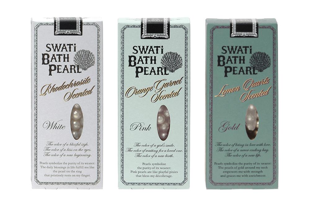 SWATi BATH PEARL WHITE(ゴールド)30粒