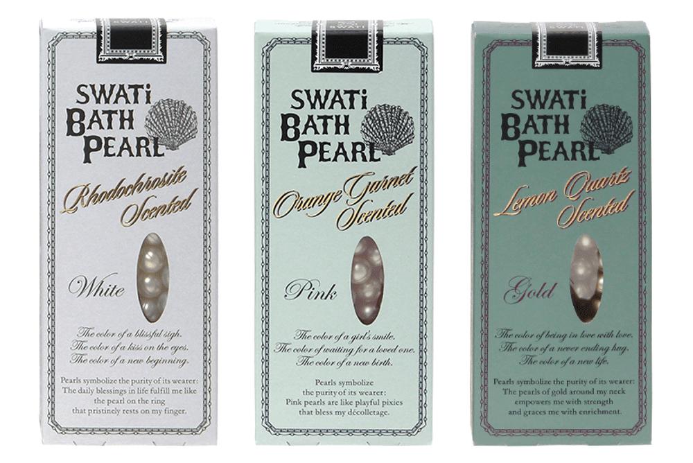 SWATi BATH PEARL WHITE(ピンク)30粒