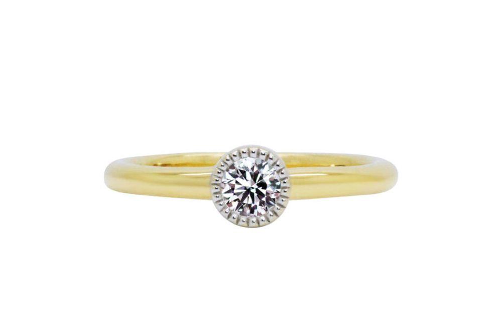 ジェンティーレ 0.246ct ダイヤモンド リング