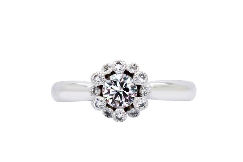 ラッジョ 0.304ct ダイヤモンド リング