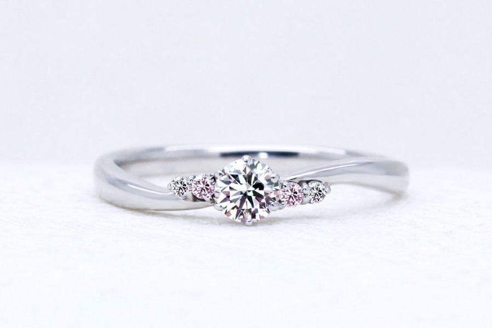 ハピネス 0.159ct ダイヤモンド リング
