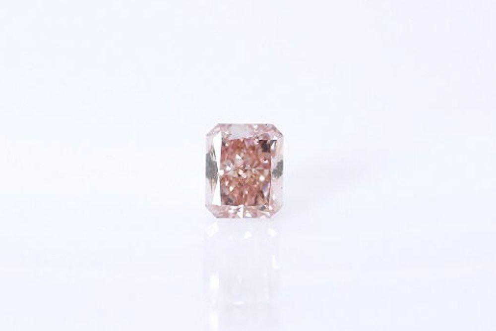 天然 ファンシーオレンジピンク ダイヤモンド SI1 0.305ct