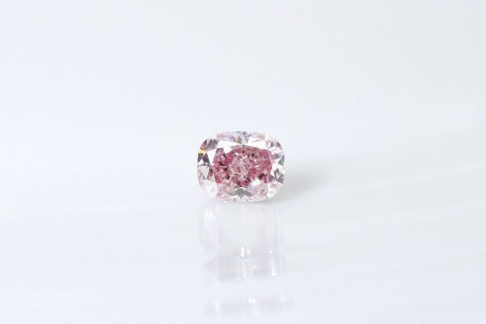 天然 ファンシーインテンスパープリッシュピンク ダイヤモンド  SI1 0.309ct