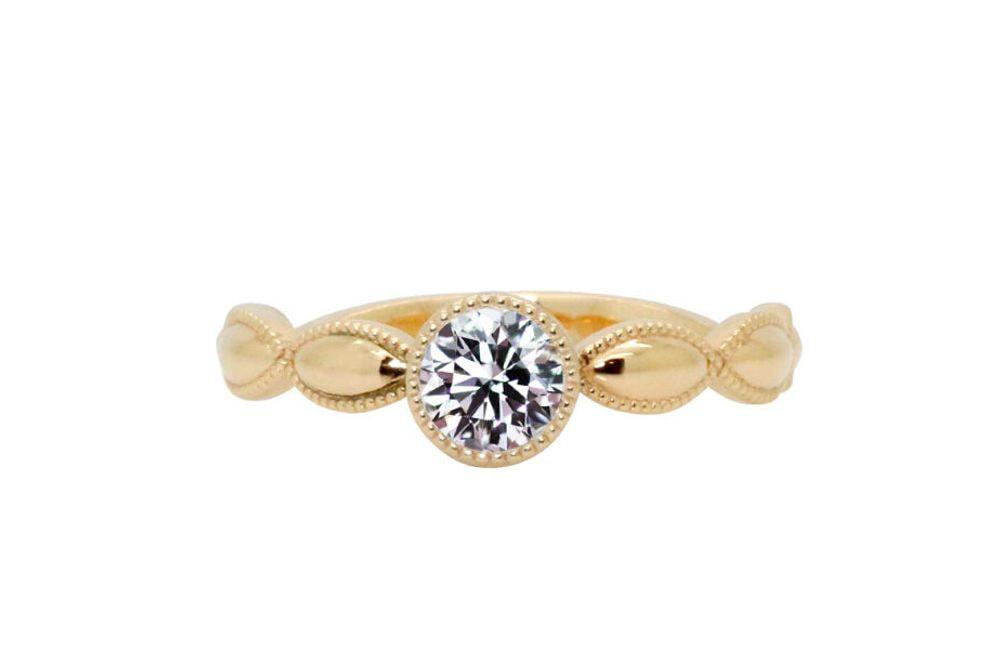 ティッシーズ 0.367ct ダイヤモンド リング