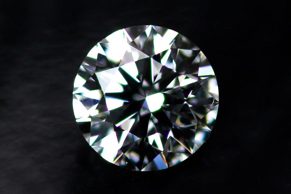 天然ダイヤモンド 0.204ct-F-VVS2-3EXHC