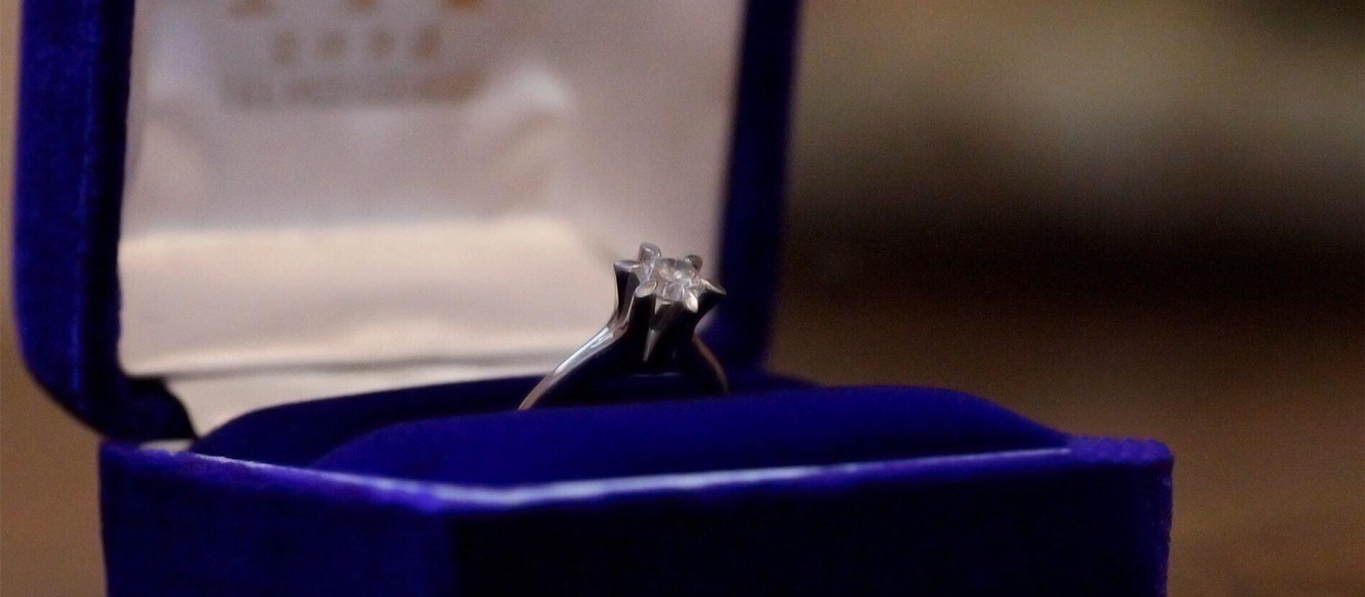 ダイヤモンド婚約指輪リメイク
