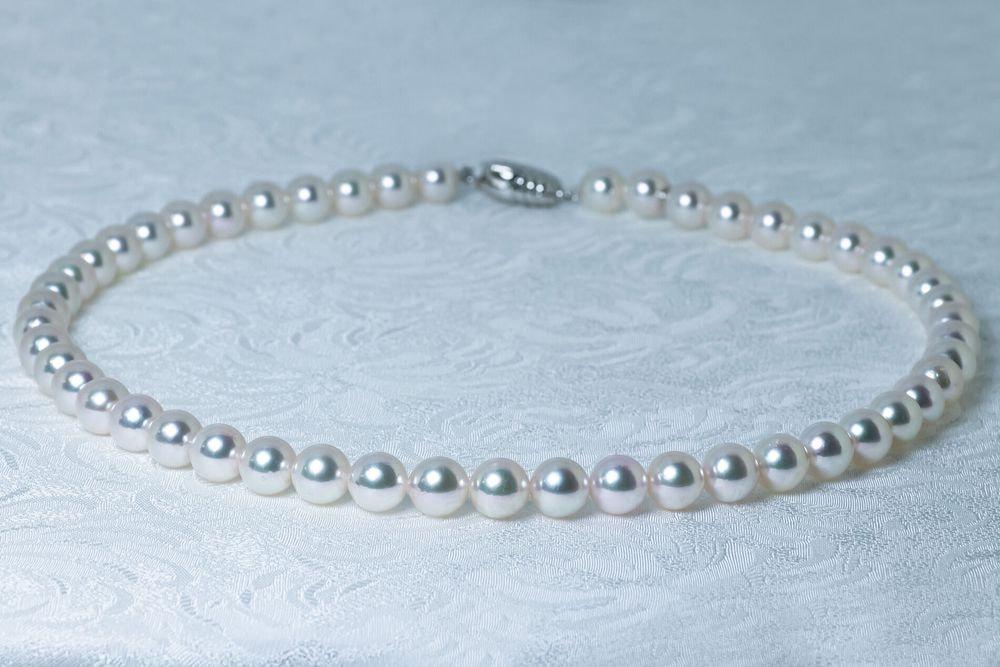 あこや調色真珠ネックレス 特別ご奉仕8.0-8.5mm