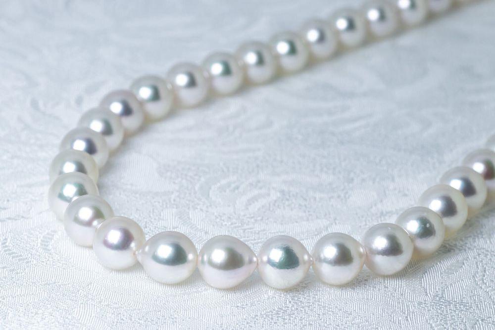 あこや調色真珠ネックレス 特別ご奉仕8.0mm