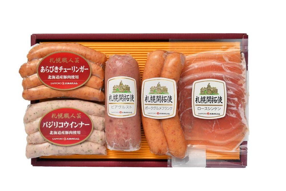 北海道 「札幌バルナバフーズ」」DLG受賞ウインナーとバラエティセット