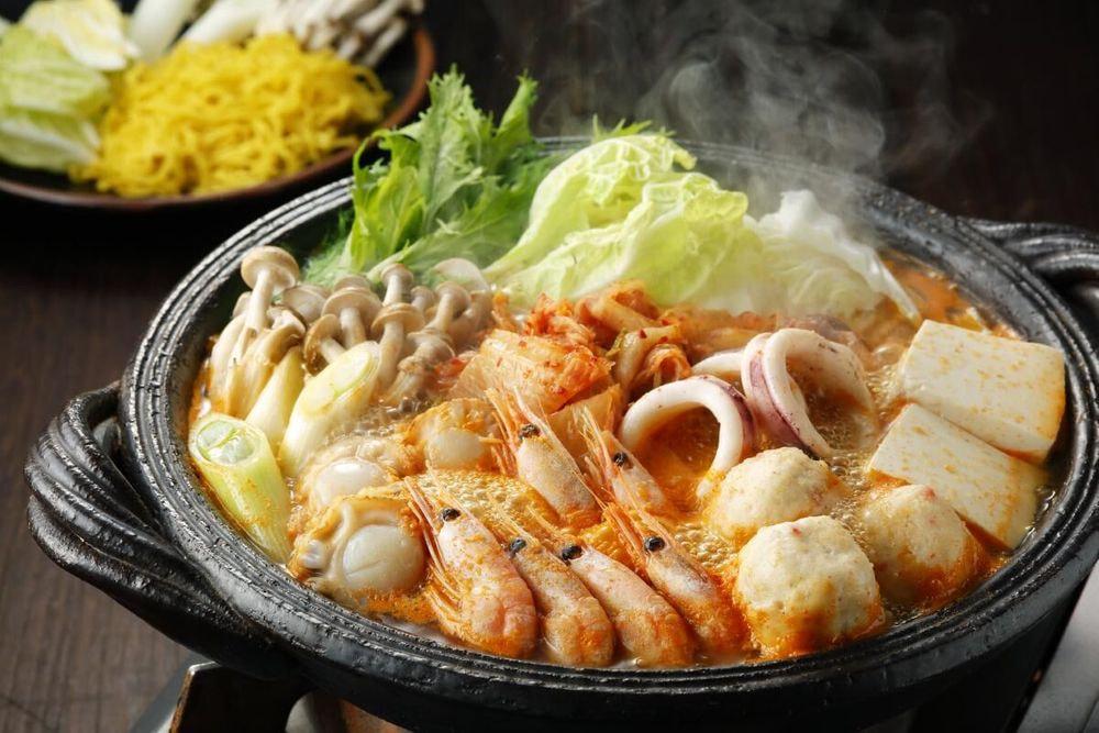 北海道 海鮮キムチ鍋