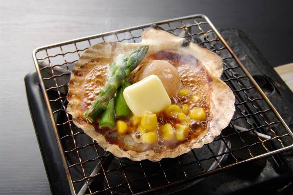 北海道 帆立バター焼き