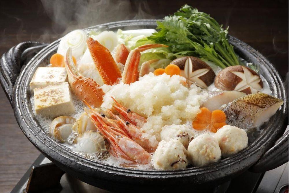 北海道 海鮮みぞれ鍋