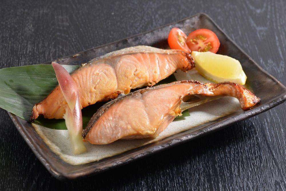 北海道産 秋鮭西京漬&昆布〆2種セット