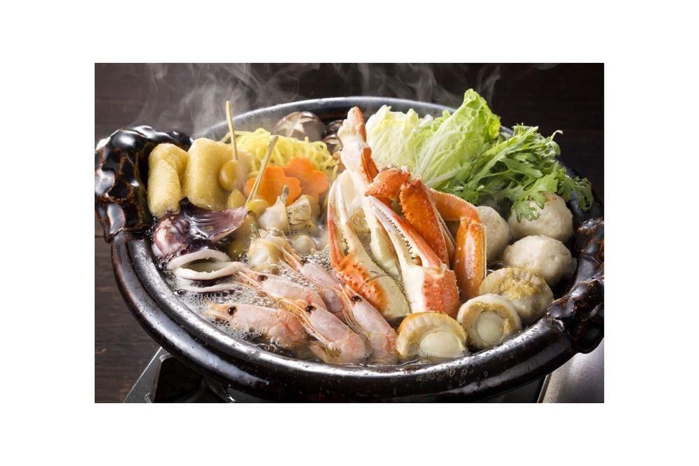 北海道 海鮮かに鍋