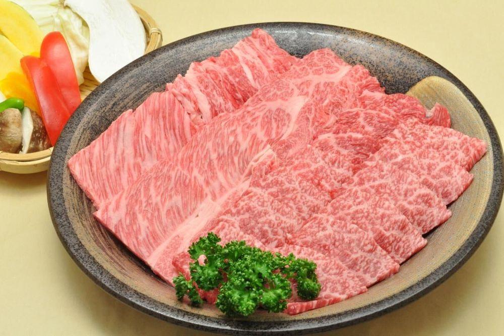 山形 創業大正12年「米沢牛 黄木」 米沢牛焼肉用
