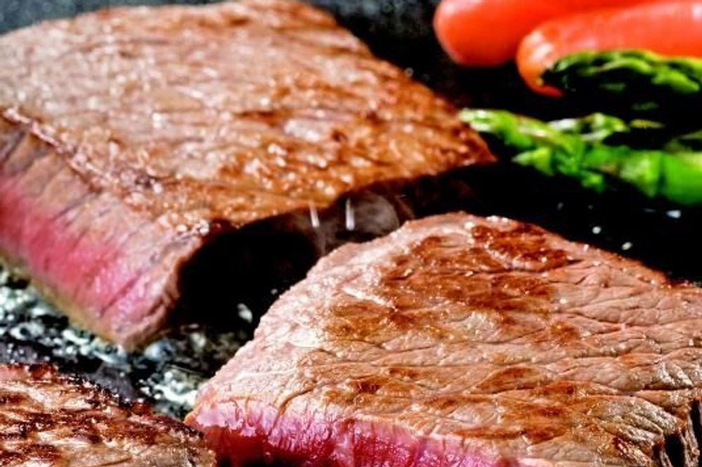 群馬 「赤城牛のとりやま」 赤城牛 モモステーキ