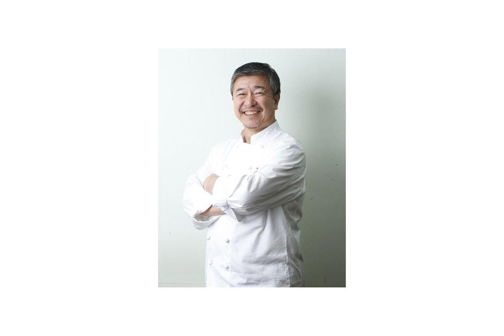 東京 「ラ・ベットラ・ダ・オチアイ落合務監修」 香味野菜と牛肉のハンバーグ