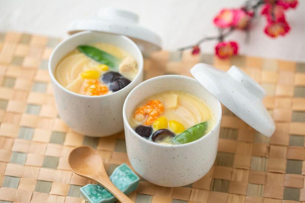 石川 「金沢料亭金茶寮」 冷凍茶碗蒸しの素(8袋)