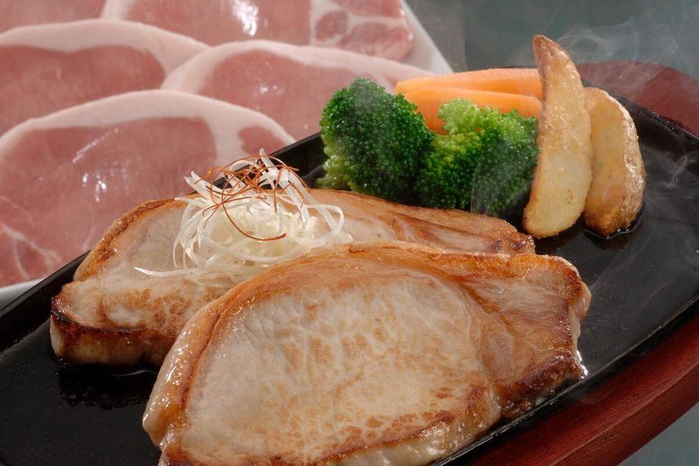 長野県産SPF豚 ロースステーキ