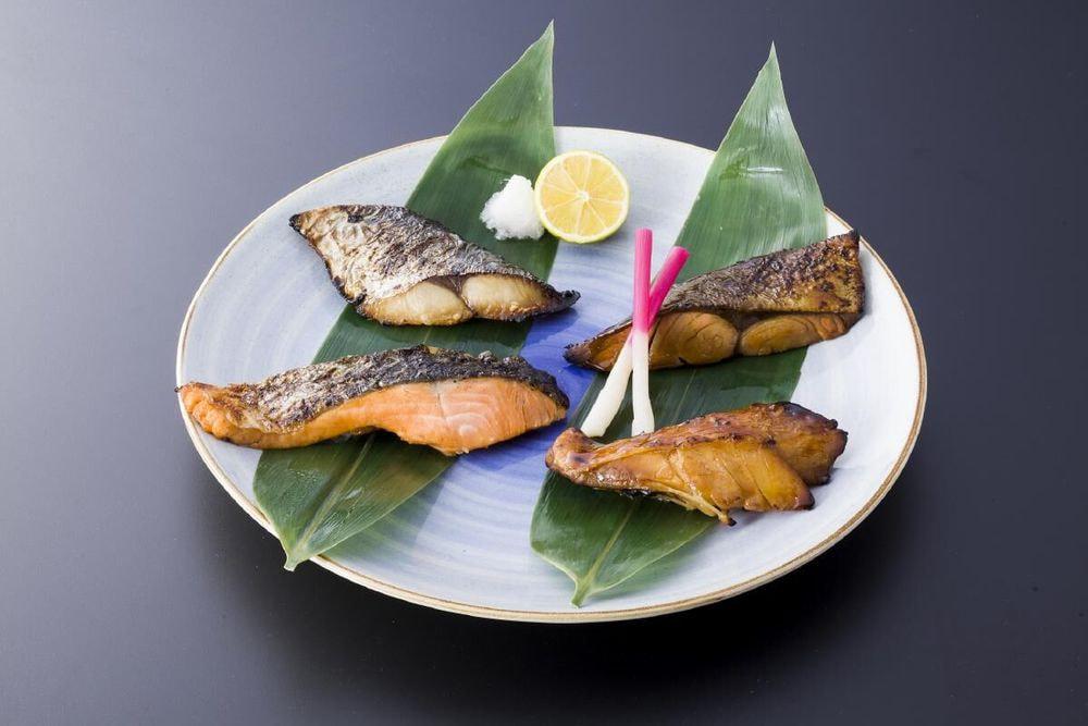 大阪「がんこ」逸鮮 焼魚詰めあわせ