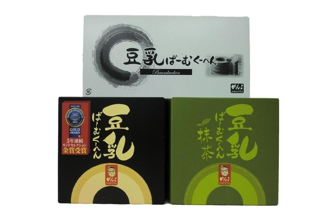 大阪「がんこ」豆乳・抹茶ばーむくーへん