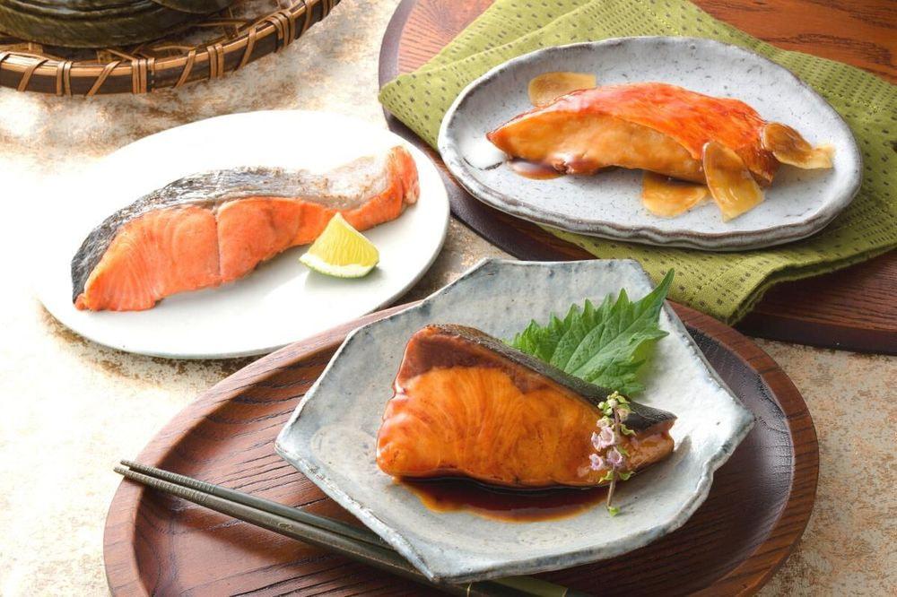 鳥取 「山陰大松」 氷温熟成 煮魚・焼き魚セット(10切)
