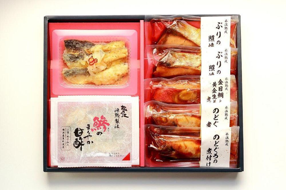 鳥取 「山陰大松」 氷温熟成 簡単便利な魚惣ギフト匠