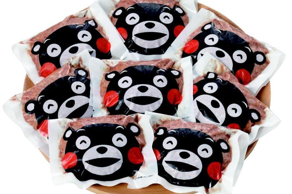 熊本和牛 あか牛ハンバーグ くまモンパッケージ