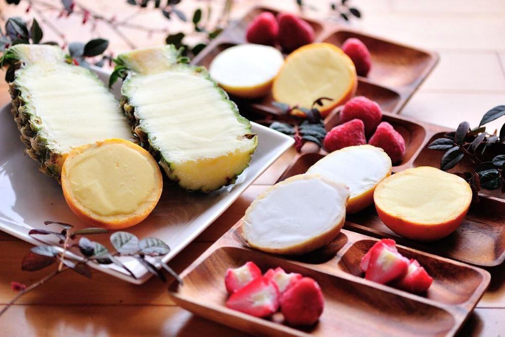 4種まるごと果実アイス詰合せ
