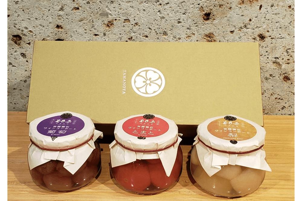 世羅懐石ワインコンポート3種詰合