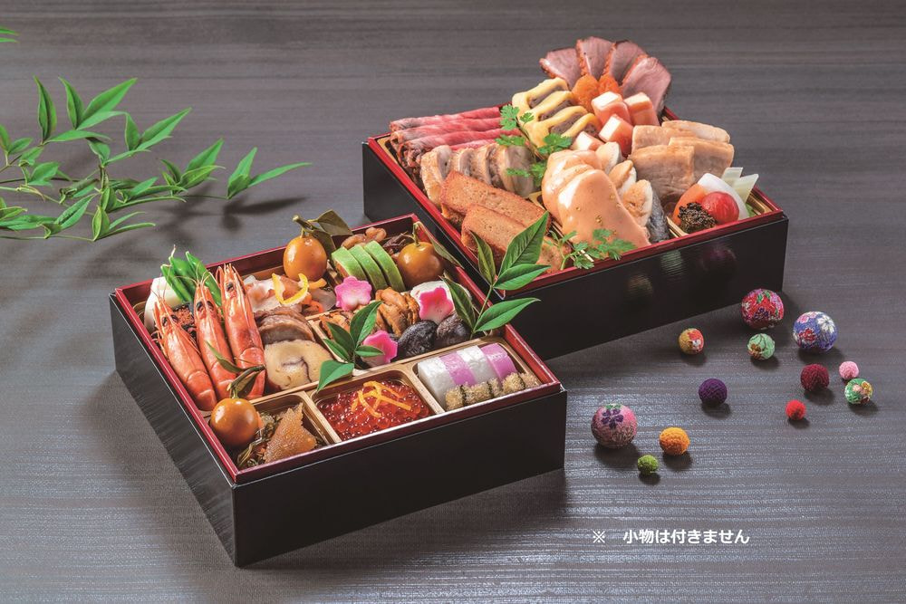 宇都宮東武ホテルグランデ 2021年新春おせち 和洋折衷二段重
