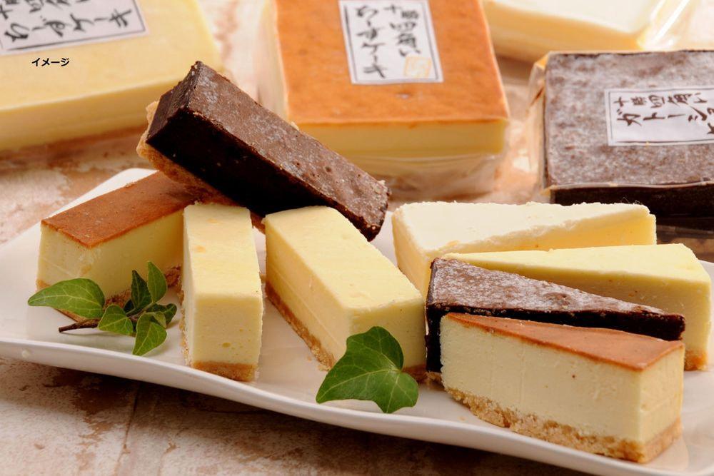 北海道 十勝四角いチーズケーキ&ガトーショコラ