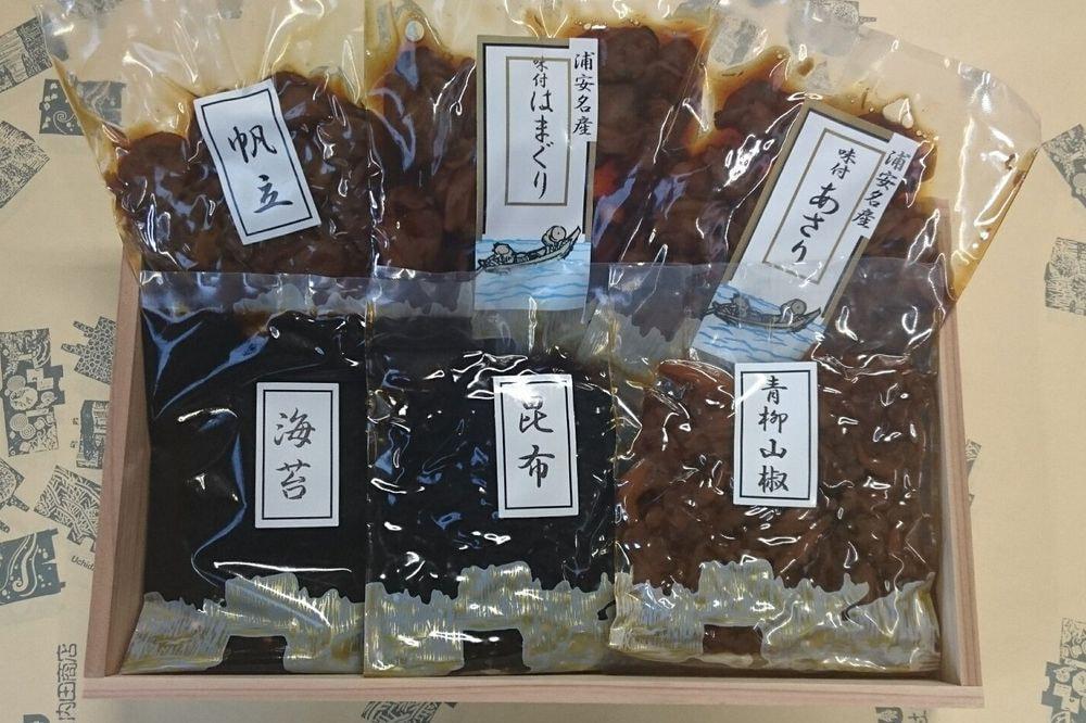 浦安名産美味しい佃煮6品セット