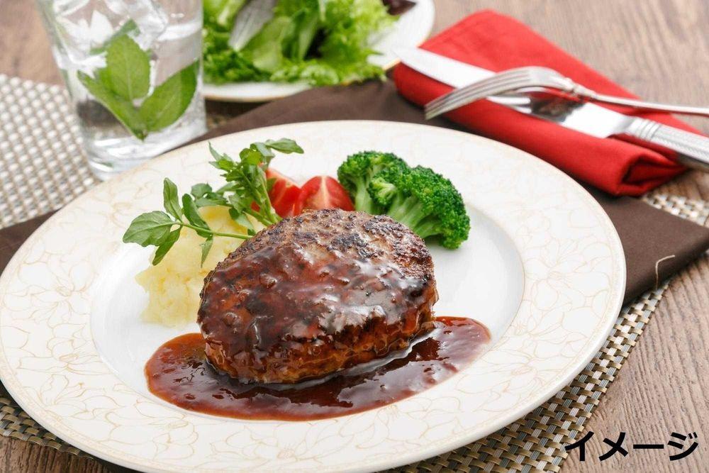 ラ・ベットラ・ダ・オチアイ 落合務監修牛肉100%のハンバーグと黒トリュフソース