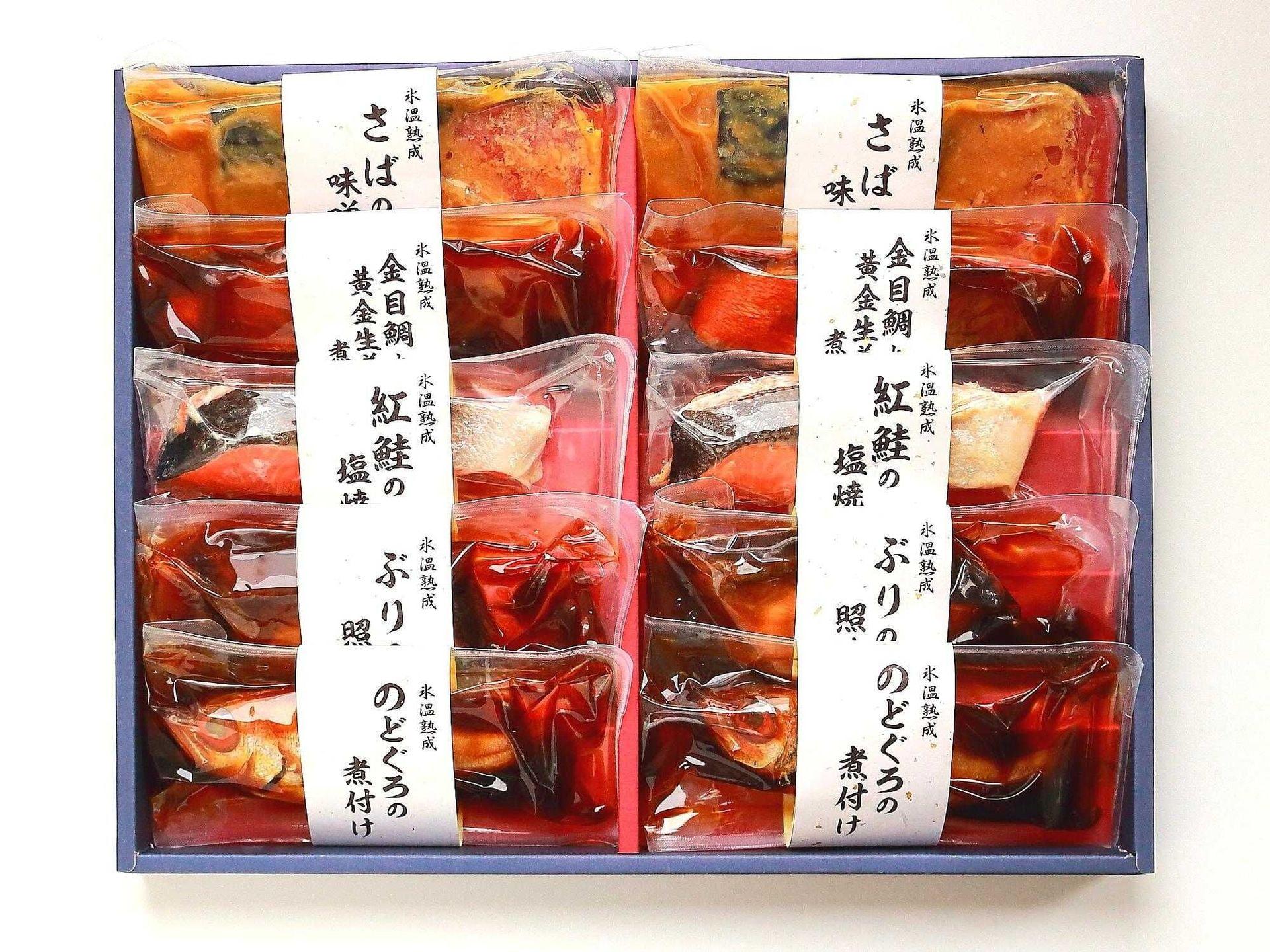 「山陰大松」氷温熟成煮魚・焼き魚