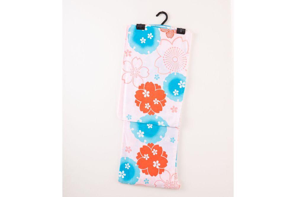 レディース浴衣 桜花柄【品番W014】フリーサイズ