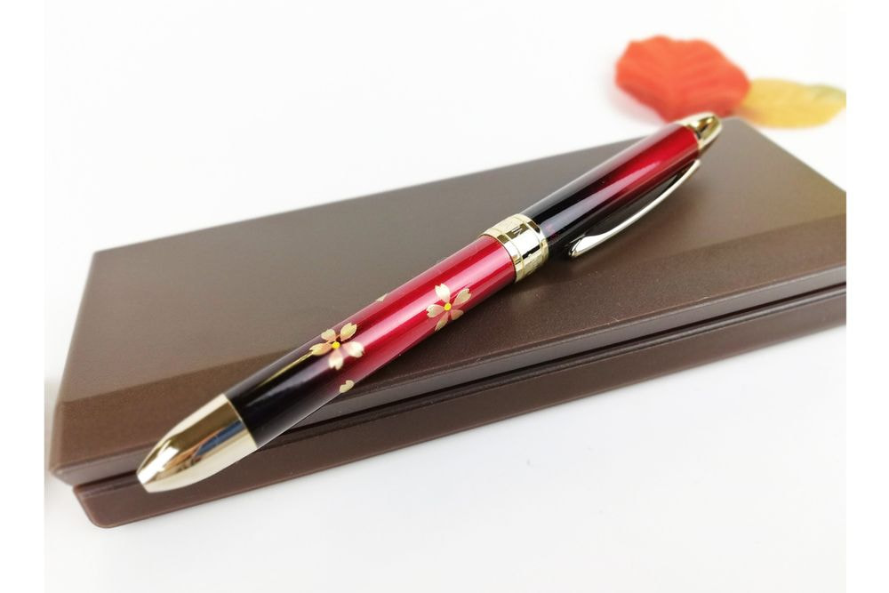 複合ボールペン(赤桜)