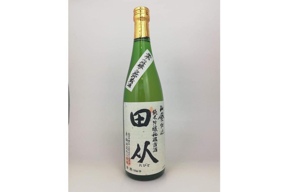 舞鶴酒造 山廃純吟秘蔵古酒 田从